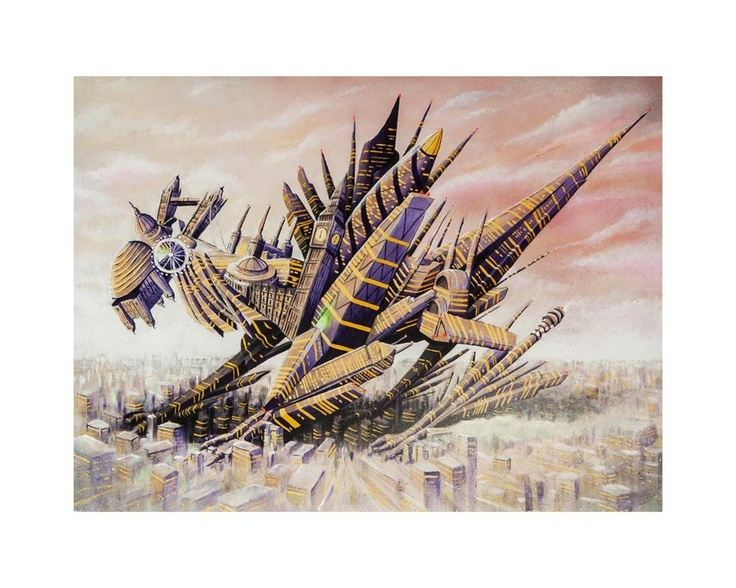'The London Dragon'  Archival pigment print on 310gsm fine art stock Edition of only 50 prints Signed and numbered by Andy Council Overall print size is 50cm wide x 40cm high