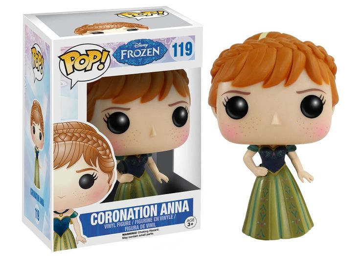 Funko Pop! Disney: Frozen - Coronation Anna