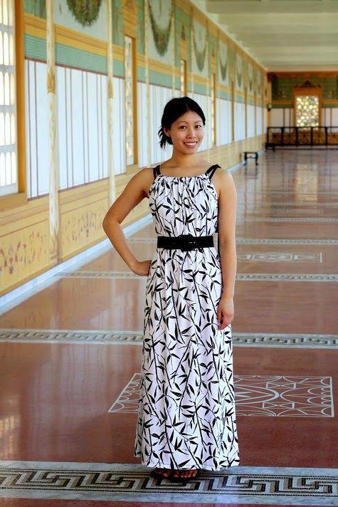 Cómo hacer un vestido de verano muy fácil (de Burda) - yo elijo Coser