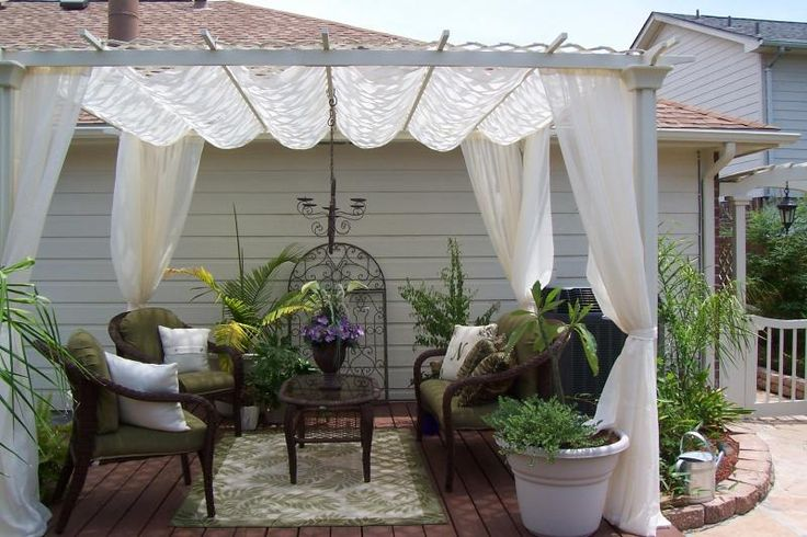 102 best images about small yard patio ideas on pinterest for Patio ideas for small yards