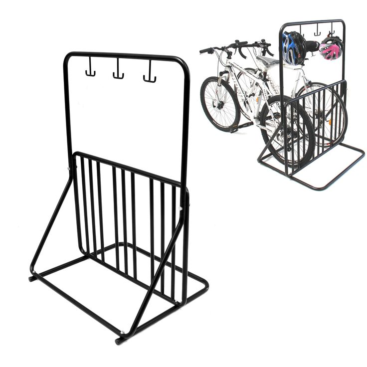 Buy 6 Bike Floor Parking Rack Storage Bicycle Stand  | CD