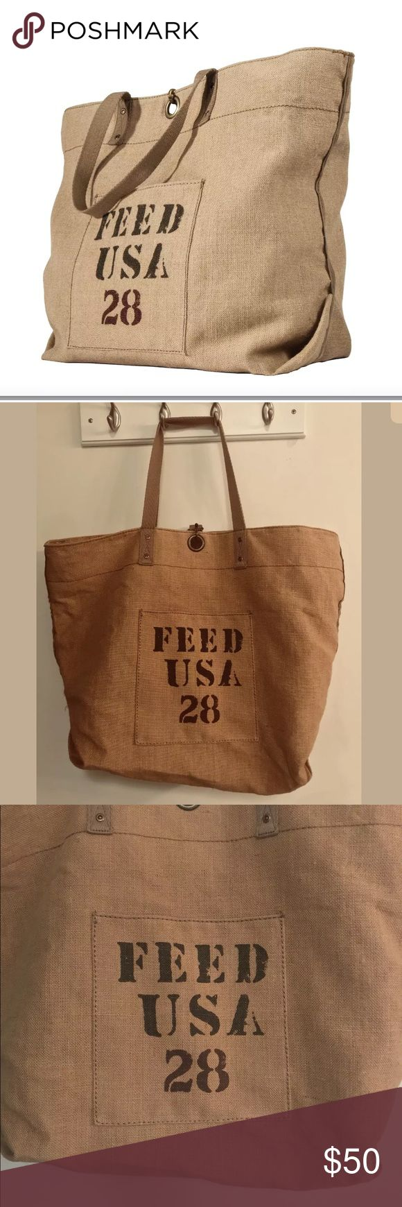 Large tote bags at target - Feed Usa Giant Tote Bag