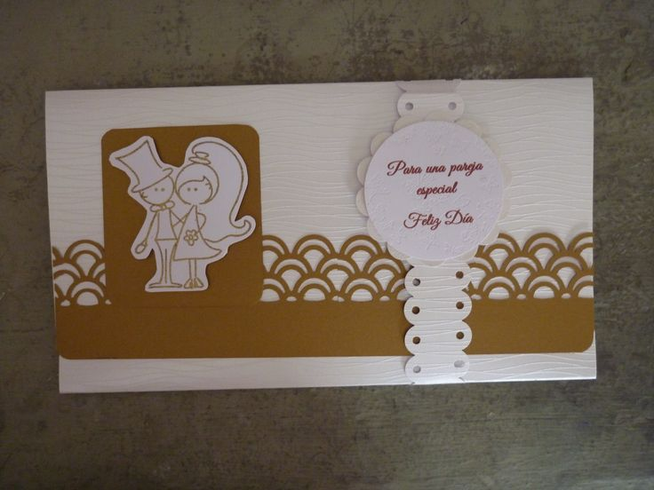 Wedding money holder