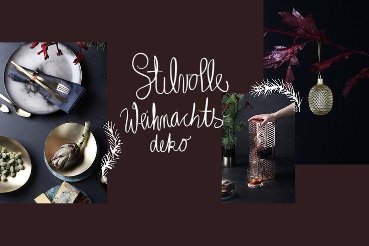 Glamourous X-mas Inspiration: Stilvolle Weihnachtsdeko für den Tisch | Newniq Design- und Interiorblog | Bloglovin'
