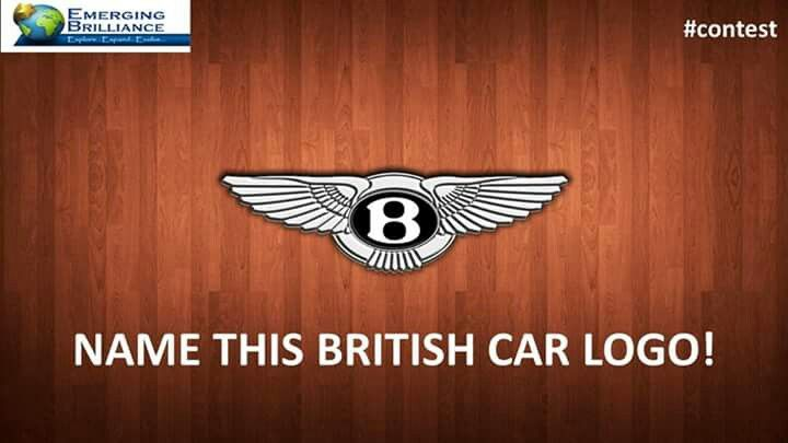 """#CONTEST """"Name this British car logo!"""" and win a Silver ticket for Our Event """"Discover Your Brilliance"""" in Delhi/Mumbai/Bangalore. *Tag your friends if you don't know the answer. *Winner will be selected by Lucky Draw.  *Winner will be announced on Monday...! Till then keep #participating ........... www.discoveryourbrilliance.net or call 8585993007 #competition #win #dybindia2016 #prize #contestalert #winitfriday #contestentry  #dybindia2017"""
