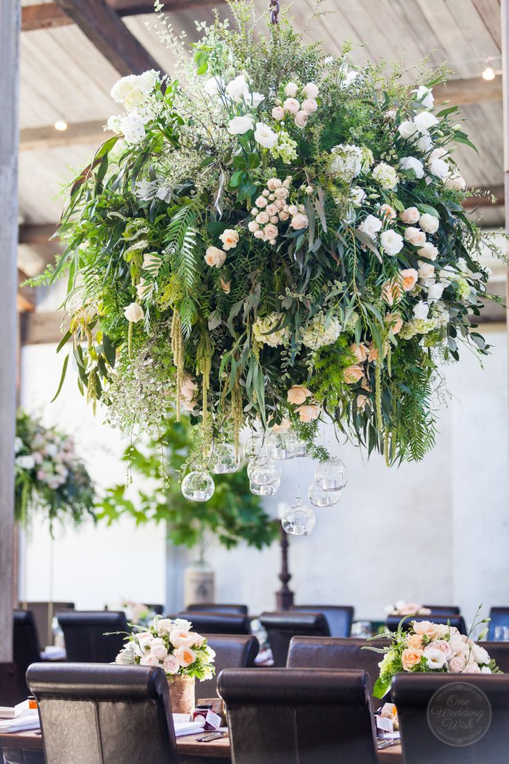 Winery wedding floral installation | Stones of the Yarra Valley | Creative direction and wedding styling by One Wedding Wish #wedding #weddingfloralinstallation #stonesoftheyarravalley