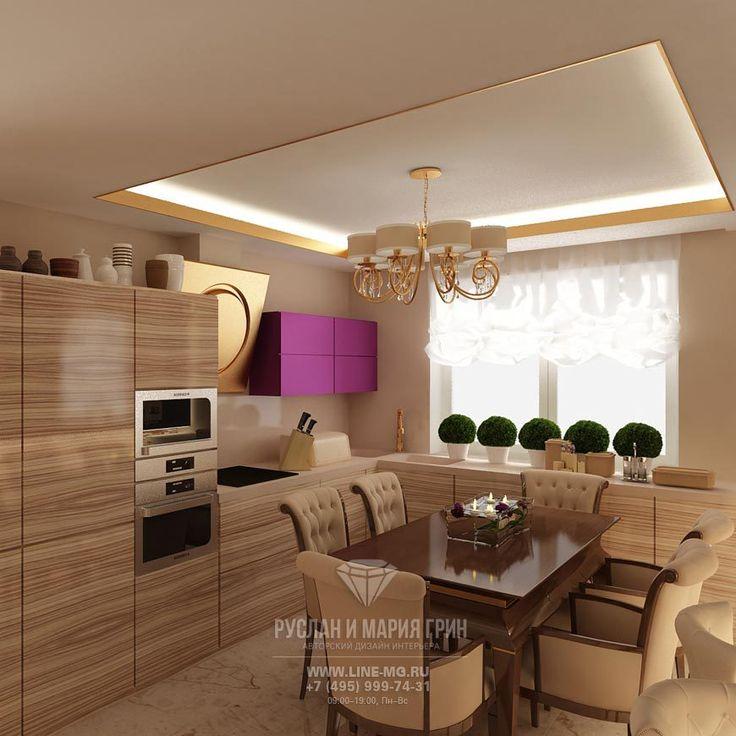 Бежевая кухня-столовая http://www.line-mg.ru/marshala_zaharova_-_stolovaya/