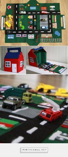 Garaje para coches en tela