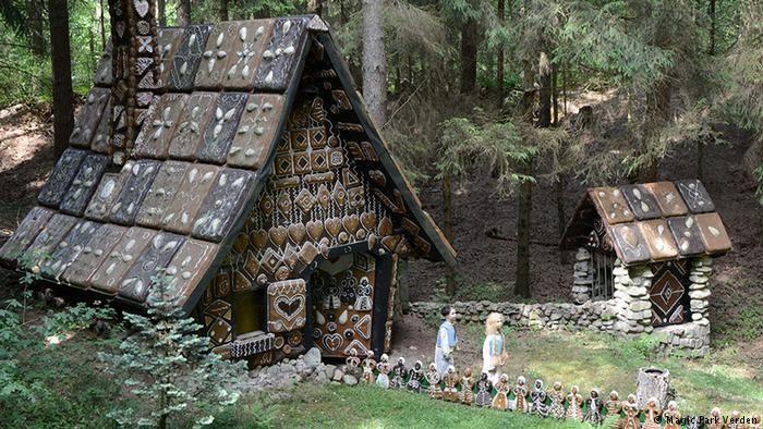 Rota dos irmaos Grimm  Foto: Casa de Joãozinho e Mariazinha