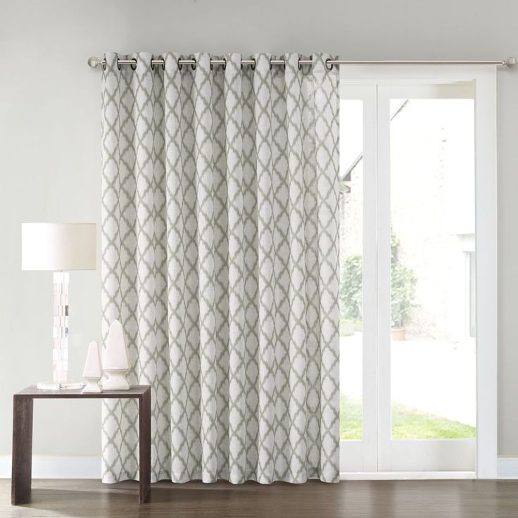 SONOMA Goods for Life Dallon Patio Door Curtain 100 x 84