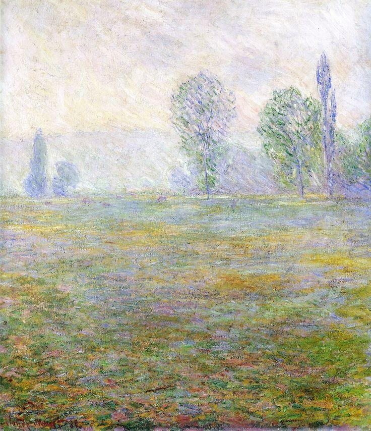 Meadows at Giverny Claude Oscar Monet - 1888