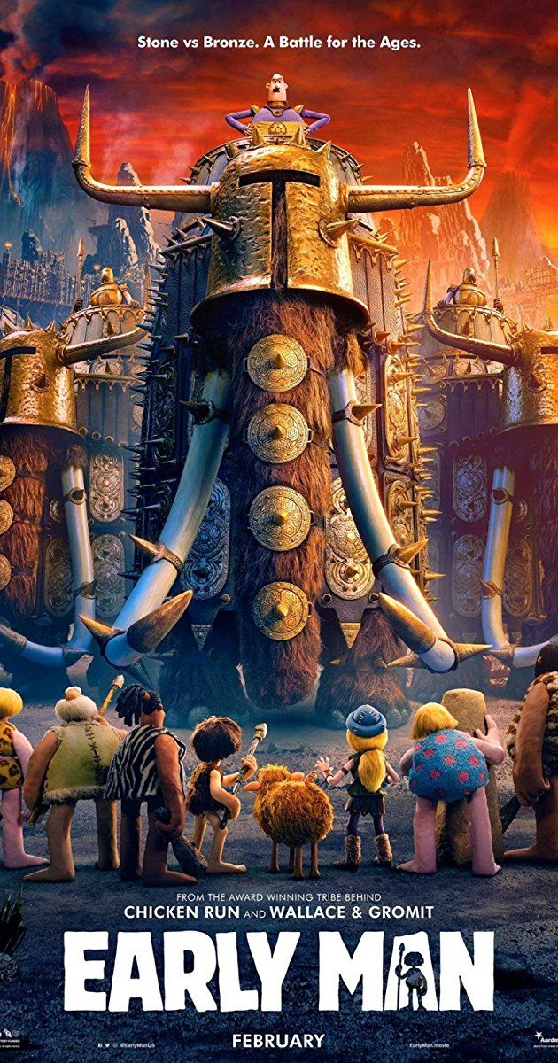 Directed By Nick Park With Tom Hiddleston Maisie Williams Eddie Redmayne Richard Ayoade Set At The Dawn Of Time When Prehistoric Fantastic Movie Kino W A