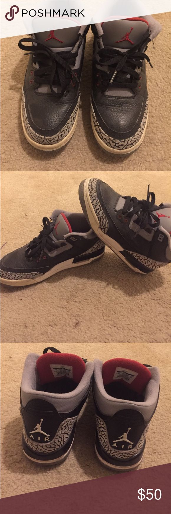 Jordan black cement 3s Judge condition by pictures. Beaters but fun for restoration. 2011 Air Jordan Shoes Athletic Shoes