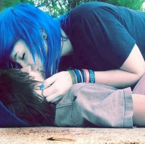 Emo boy kissing and fucking with passion 6