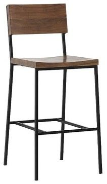 Rustic Bar Stool + Counter Stool - modern - bar stools and counter stools - other metro - Rebekah Zaveloff