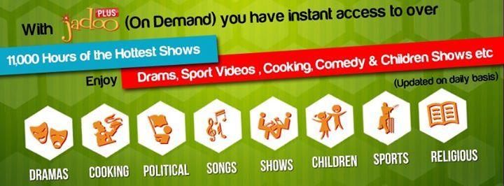 With jadoo3 On demand You have instant access  www.jadoobox.dk