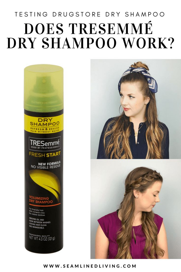 Tresemme Dry Shampoo Review - Testing Drugstore Dry Shampoo #dryshampoo #tresemme #hairtips