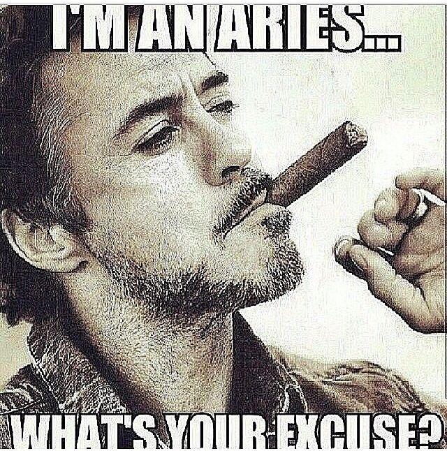 I'm an Aries
