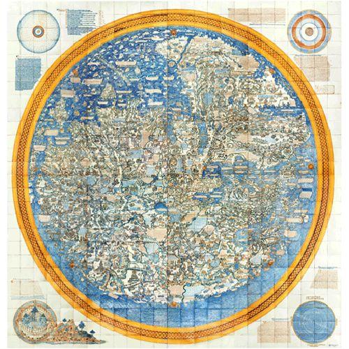 Fra Mauro's Mural Map
