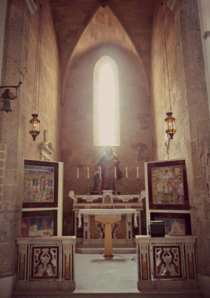 Sant'Anna, interno Ex Cattedrale di Vico Equense - Campania, Italy