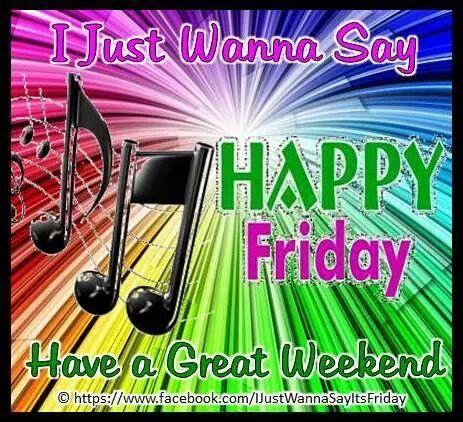 ☼ ♪♪♫ ♪ ♪♫ Happy Friday Y'All...:)