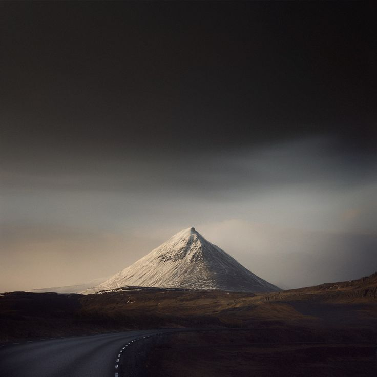 "Iceland's ""Baula Mountain"" by photographer Andy Lee. #Landscape #Photography"