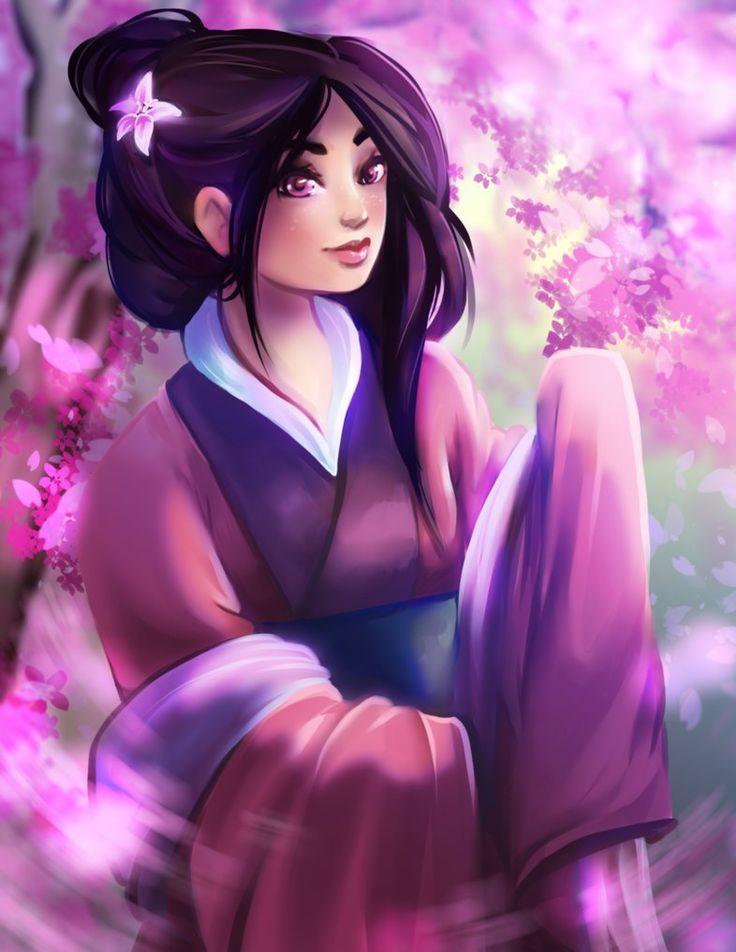 88 best art by kachumi images on pinterest disney princessheroine mulan by kachumi fandeluxe Gallery