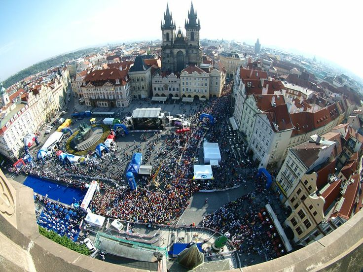 IAAF Gold Label rewarded Prague Marathon route goes through the most beautiful historical Prague