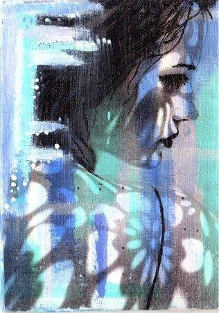 Image Transfer with Acrylic Gel Medium Method - Conway High School Art Project
