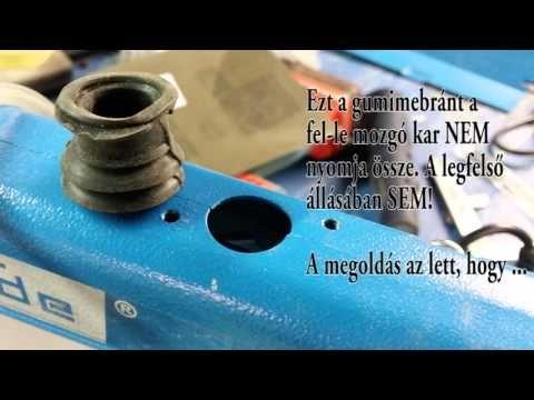 Güde GDS 16 por(nem)lefújás javítása - YouTube