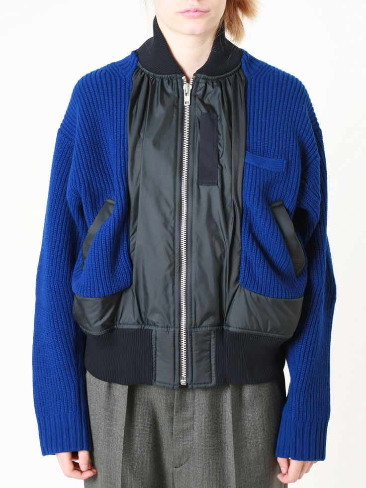 Sacai - Blouson - guyafirenze.com - on FW14/15 women collection