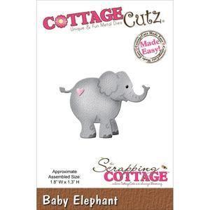 Wykrojnik CottageCutz Die - Mały słonik