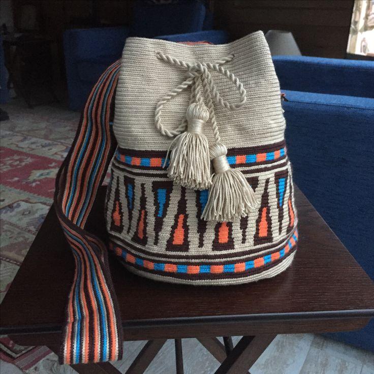 Sevil Tığ işi çanta #wayuu #handmade