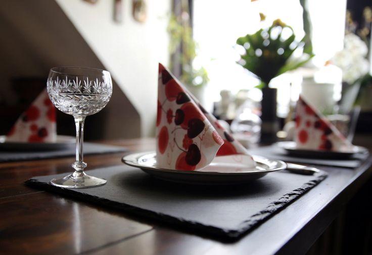 6 Schieferplatten 40 x 30 cm Servierplatten mit Bruchkante TOP-Qualität & Preis in Möbel & Wohnen, Kochen & Genießen, Gedeckter Tisch   eBay
