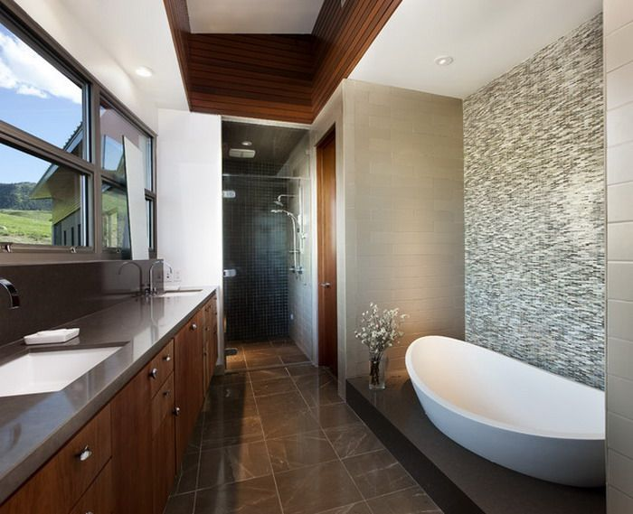Superbe Images Of Spa Tubs In Bathrooms | Amazing White Tubs In Modern Spa Bathroom  For Bathroom