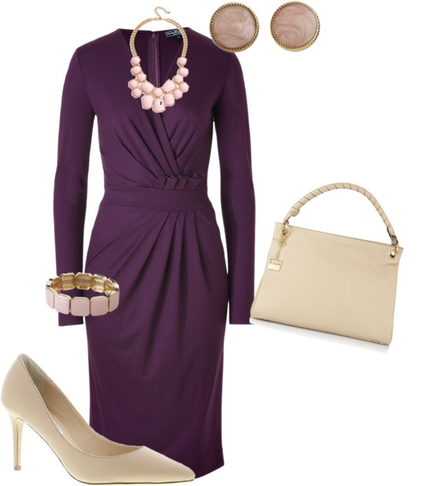 """Lilac and Pink"" by mypigeonpairblog on Polyvore"