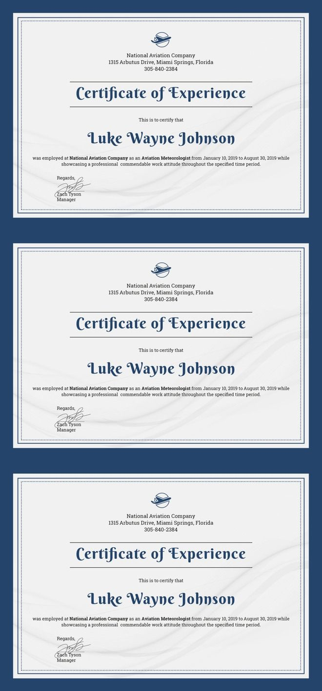 The 25 best certificate templates for word ideas on pinterest free company experience certificate template editable employee experience certificate design for different organizations available alramifo Choice Image