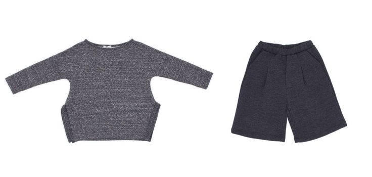GW18301-3 Sweater/ color grey  GW18602-4 Oversized pant /color grey