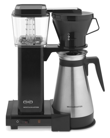 Beautiful Technivorm Moccamaster Coffee Maker With Thermal Carafe, Black Metallic Great Pictures