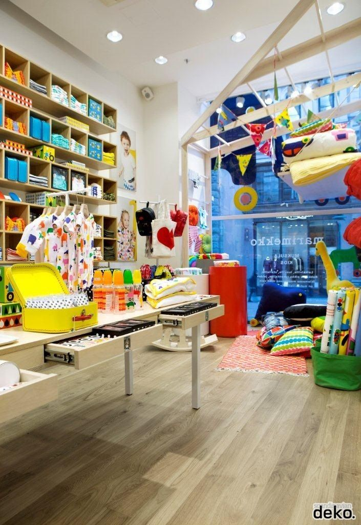 Marimekko new kids store Muksula in Helsinki