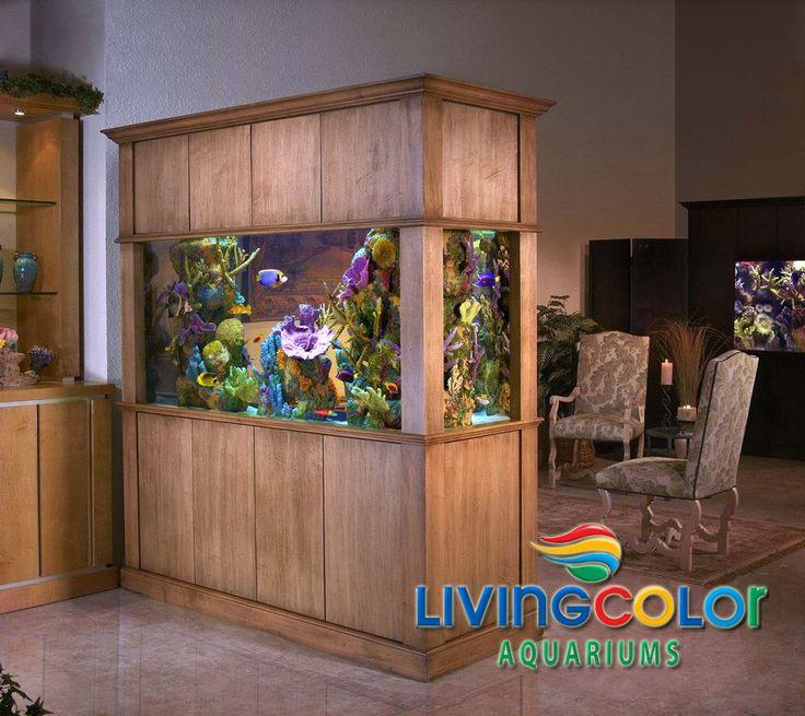 21 best living color aquariums residential images on pinterest custom aquariums aquariums. Black Bedroom Furniture Sets. Home Design Ideas