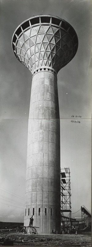 Torre Stabilimento Fiat, Mirafiori   Pier Luigi Nervi, 1961