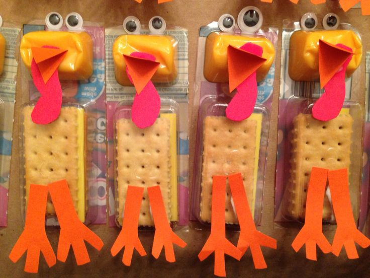 Store-bought Thanksgiving Class Party Snack Ideas More