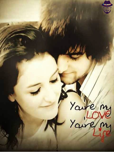 10 best images about love couples on pinterest couples - Love wallpaper shayari hd ...
