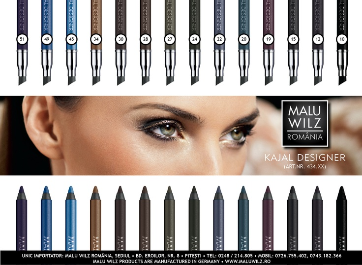 KAJAL DESIGNER are available at MALU WILZ ROMANIA! MALU WILZ Products are manufactured in Germany! www.maluwilz.ro