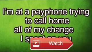 Maroon Payphone ft Wiz Khalifa LETRA