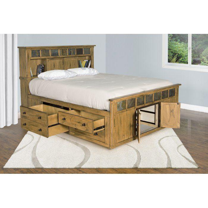 Framingham Storage Platform Bed Bedroom Storage For Small Rooms