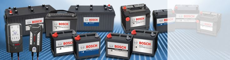 Bosch Batteries