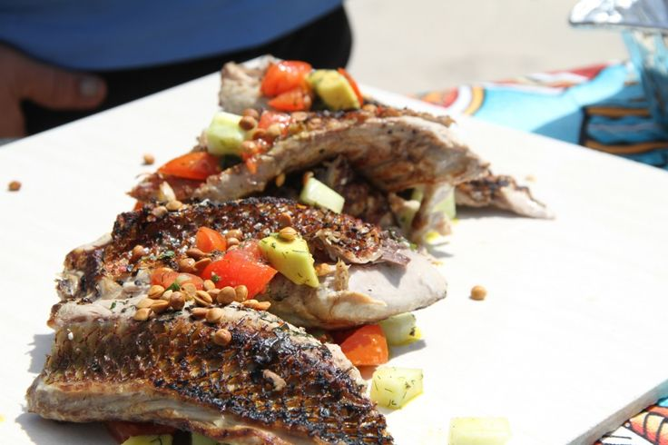Snapper on the Bbq - REAL PASIFIK