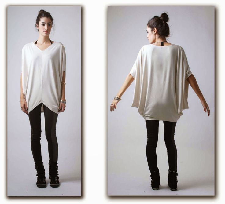 Blouse with draped on the sides - viscose lycra